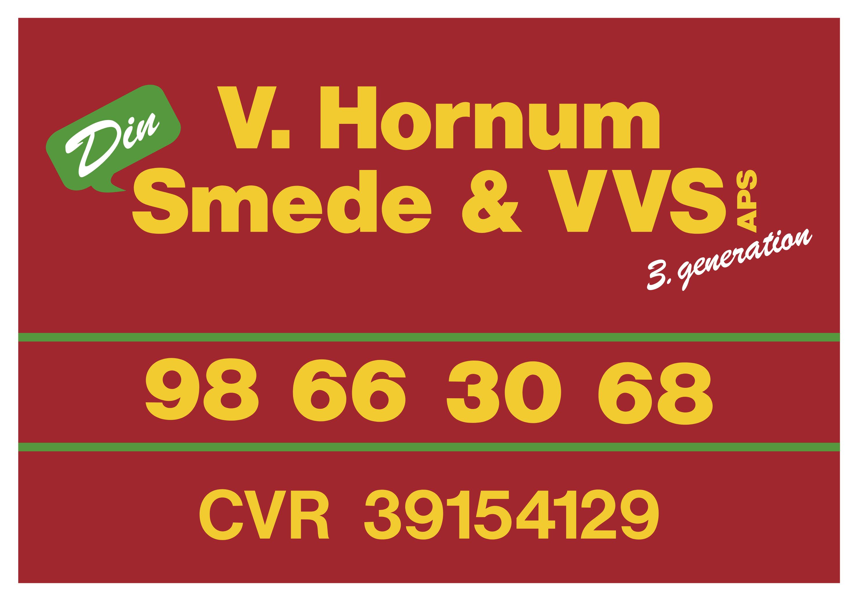 Vester Hornum smede- og VVS forretning